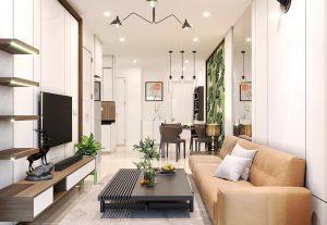 Kiến trúc xây dựng Full House cho phòng khách