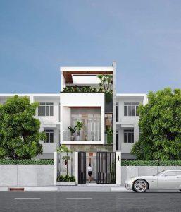 Thiết kế kiến trúc xây dựng nhà phố dạng ống tại Đà Lạt