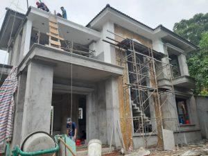Công việc xây dựng nhà phố tại Đức Trọng