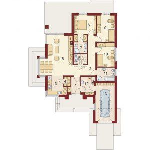 Một bản vẽ thiết kế từ Full House Tâm Việt