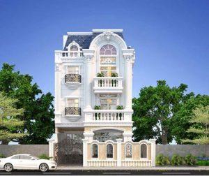 Thiết kế kiến trúc xây dựng biệt thự Đức Trọng Lâm Đồng